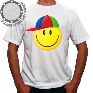 Camiseta Smile de Boné