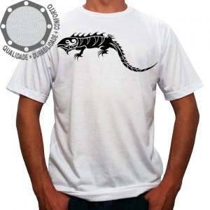 Camiseta Tribal Iguana