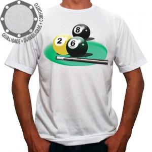 Camiseta Sinuca Snooker Balls