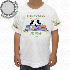 Camiseta Pic Nic Cata-Vento Formiguinhas