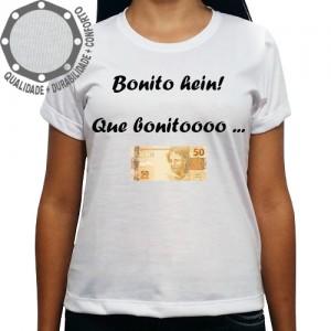 Camiseta Carnaval Bonito Hein Que Bonito