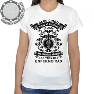 Camiseta Melhores Enfermeiras