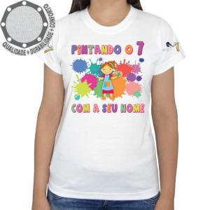Camiseta Pintando o 7