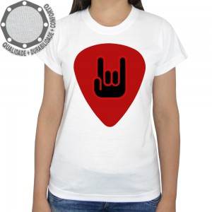Camiseta Palheta Red Rock