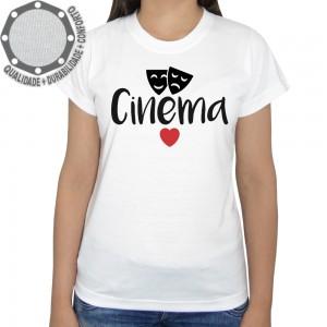 Camiseta Cinema