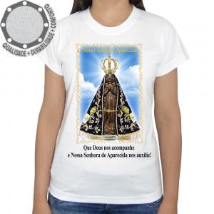 Camiseta Nossa Senhora de Aparecida Nos Auxilie