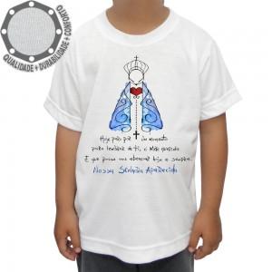 Camiseta Nossa Senhora de Aparecida Mãe Querida