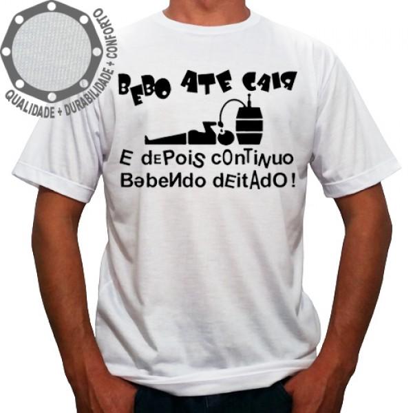 Camiseta Bebo Até Cair