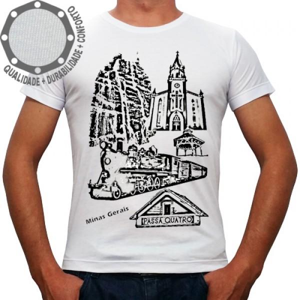 Camiseta Passa Quatro Pontos Turísticos PB