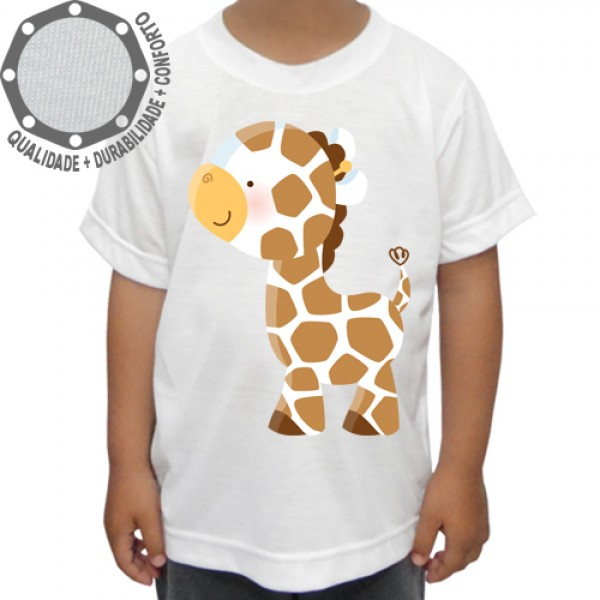 Camiseta Girafa Mini