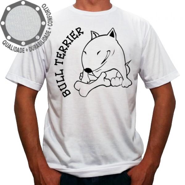 Camiseta Cachorro Bull Terrier