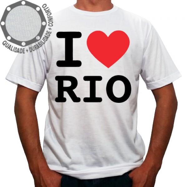 Camiseta I Love Rio